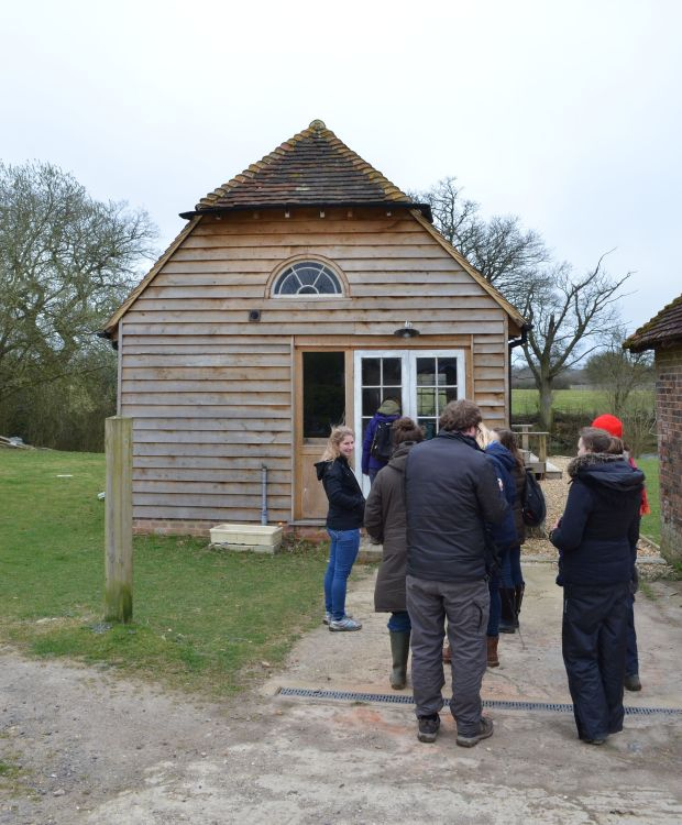 The dining / conference hut