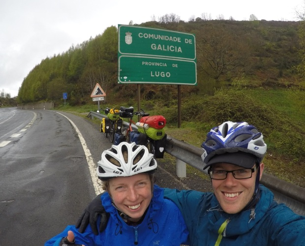 Arriving in Galicia