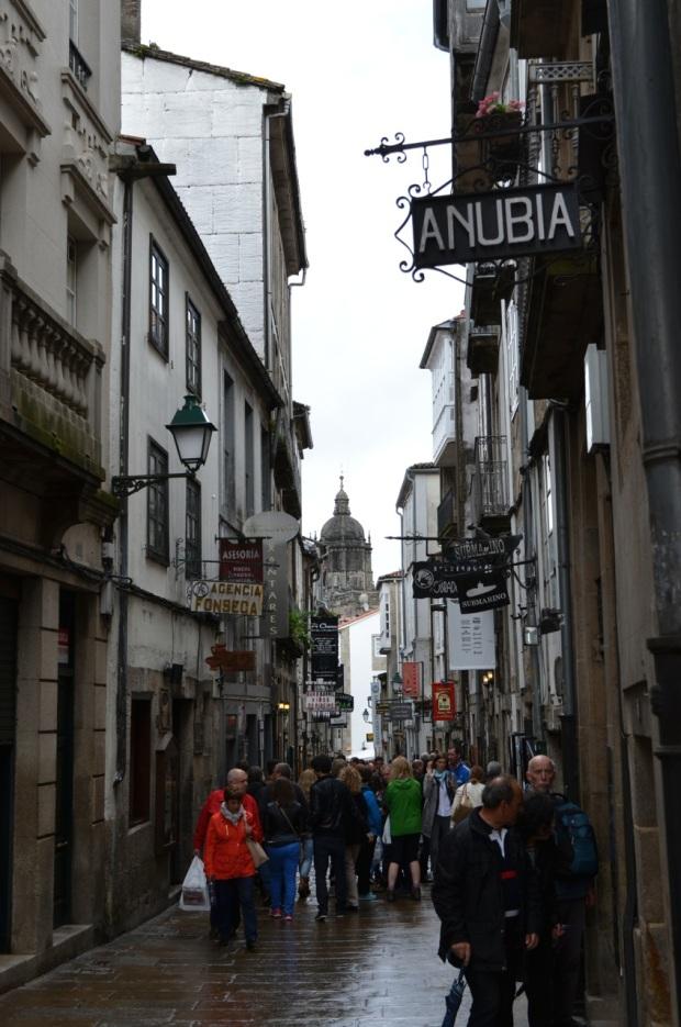 Typical Santiago street