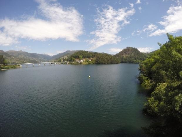 Rio Caldo looking lake-like