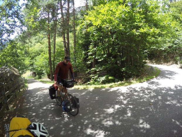 Riding the switchbacks