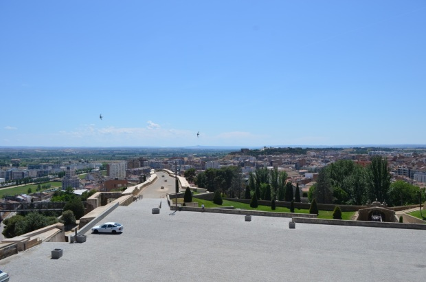Lleida from the top