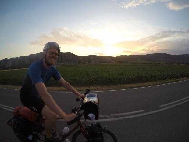 Dave at sundown