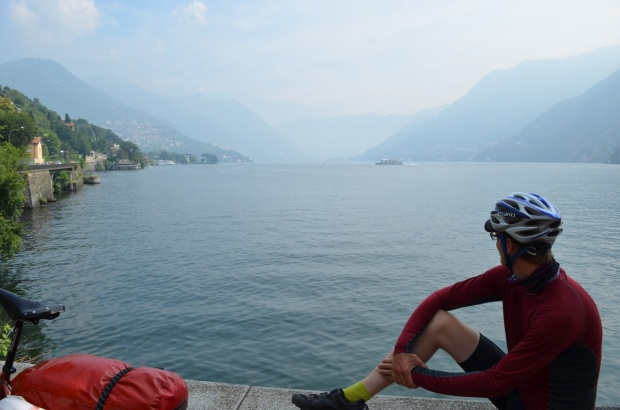 Just chilling by Lake Como