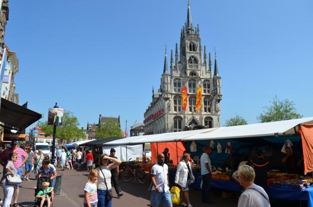 Market in Gouda