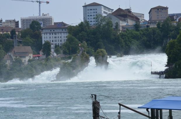 Rhein Falls from a distance