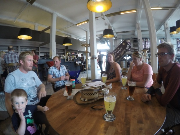Pitstop at the Gruut brewery
