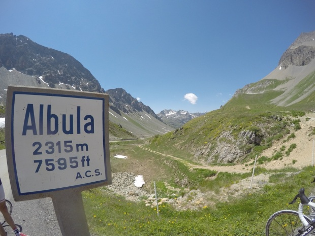 Albulapass summit