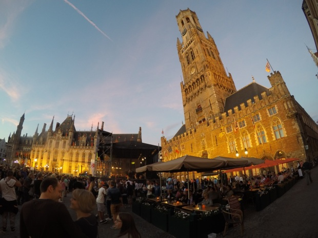 The Belfry of Bruges - on Belgium Day!