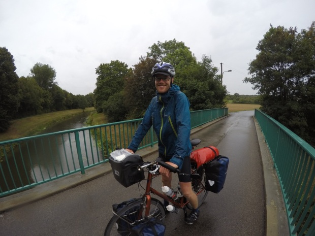 Joining the riverside route