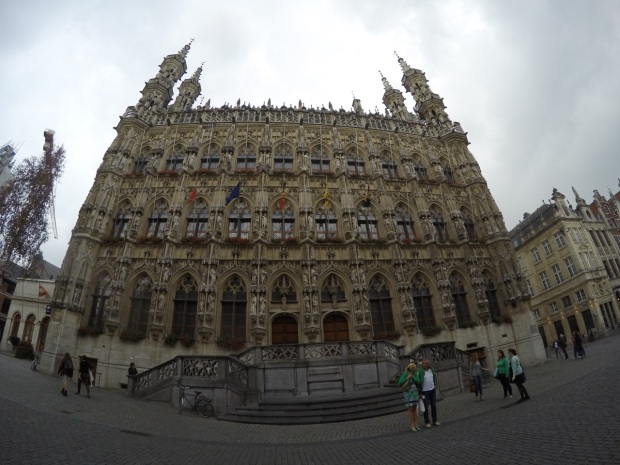 Leuven old town hall.
