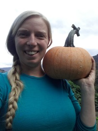 Produced a pumpkin!