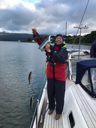 My Mum caught some fish