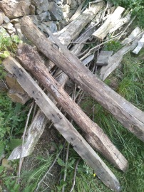 Bits of old wood