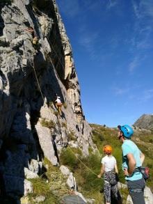 Tarje climbing