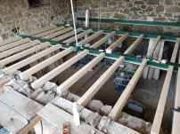 Filling up with joists