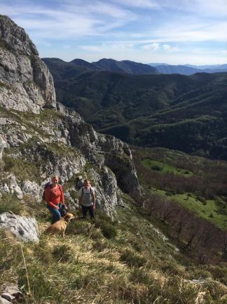 Glorious hike